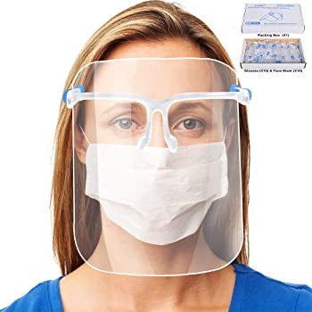 COVID-19 Faceshield - Face coverings (can be used for cooking)