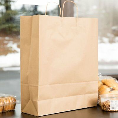 Natural Kraft Paper Shopper Bag (8 x 4.5 x 10 )