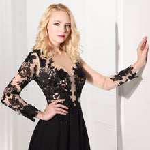 Elegant Lace Prom Dress | thelaxboutique.com