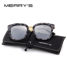 MERRY'S Women Classic Cat Eye Polarized  Metal Temple