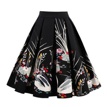 printed skater skirt | thelaxboutique.com