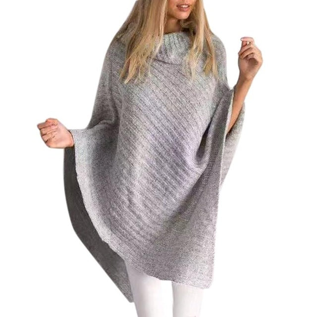 Poncho Winter Shawl