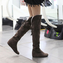 Linda Knee high boots