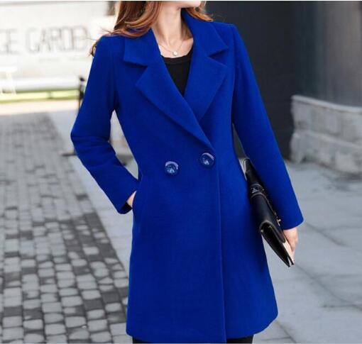 Wool Blended Winter Coat