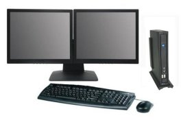 AG7000W10 Thin Client Terminal - Win10 IoT Operating System - 122-Key 5250 or 3270 Keyboard