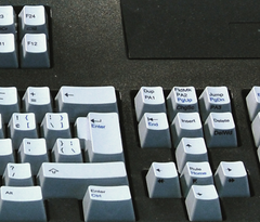 122-Key 3270-Style Keyboard for PCs & Thin Client Terminals