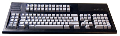 122-Key 5250-Style Keyboard for PCs & Thin Client Terminals, Driverless - USB (P/N KBPC122-5250U)
