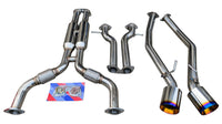 Performance Catback Exhaust System w/ Muffler Deletes Track Edition for 2009+ Nissan 370Z Fairlady Z
