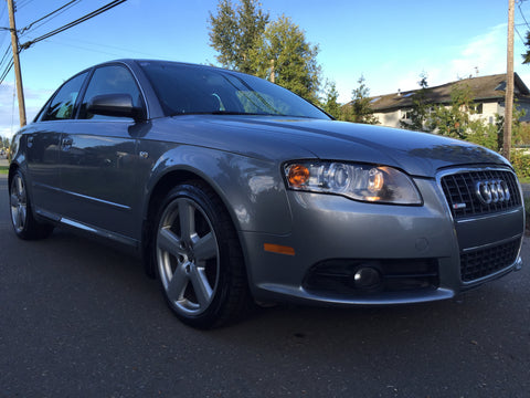 2008 Audi A4 S-LINE TURBO 2.0L AWD QUATTRO, Paddle shifters, Auto tiprtonic, 122,000 kms