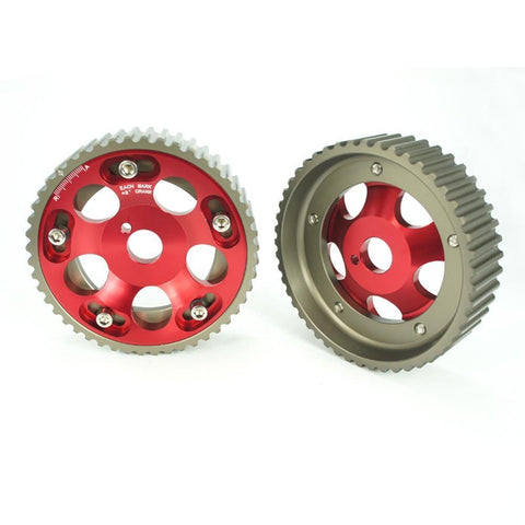 2 Pcs Cam Gears Pulley KIT Alloy Timing Belt Gear Pulley For Toyota Supra / Aristo 1JZ 2JZ Cam Pulley Pullys Gears 1JZGTE 2JZGTE