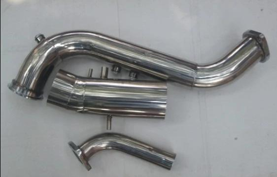 STAINLESS STEEL DOWNPIPE DOWNPIPE / Intake Dump Pipe Kit for 1993-2002 TOYOTA SUPRA MK4 SINGLE STAGE TURBO Conversion 2JZ 2JZGE 2JZ-GE 2JZGTE 2JZ-GTE