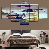 Canvas Wall Art Pictures Home Decor For Living Room Framework 5 Pieces Speedhunters Sports Car PaintingsHD Print Modular Posters