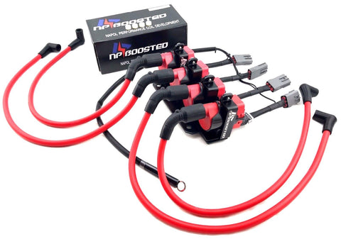 2004-2011 Mazda RX8 RX-8 LS3 LS7 D585 Performance Ignition Coil Packs GM Conversion Kit 10MM Wires & Bracket