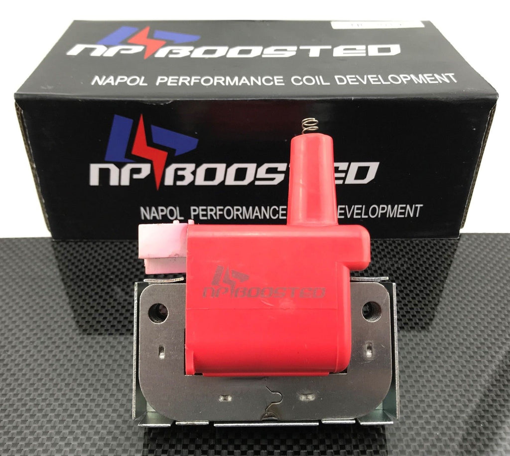 NPBoosted INTERNAL SUPER HIGH OUTPUT ENERGY IGNITION COIL Fits HONDA ACURA CAP