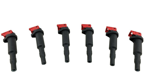 6 Ignition Coils for 07-16 1M 135i 335i 335is 335xi 535i 535xi Z4 X6 N54 3.0L TT