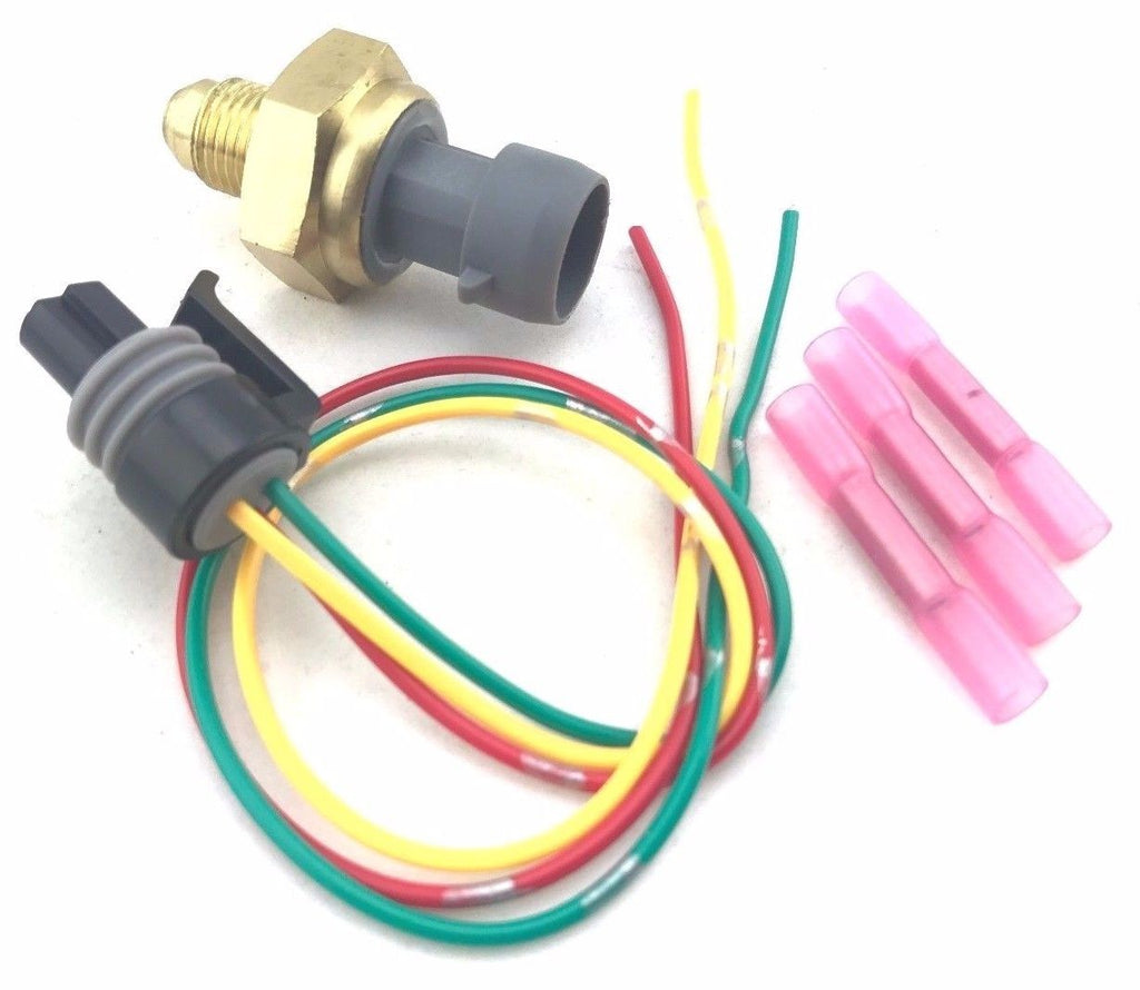 08-10 6.4L Ford Powerstroke Diesel Exhaust Back Pressure Sensor Kit & Pigtail SD