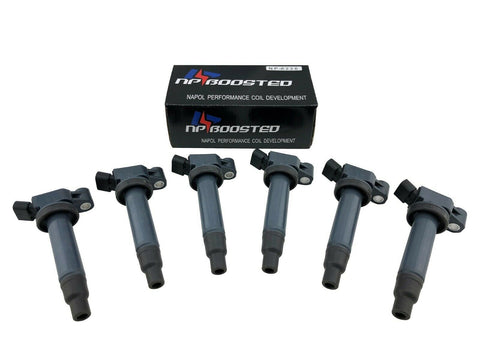 Pack of 6 Ignition Coils for 1998-2006 Toyota Camry Avalon Lexus ES300 RX300 3.0