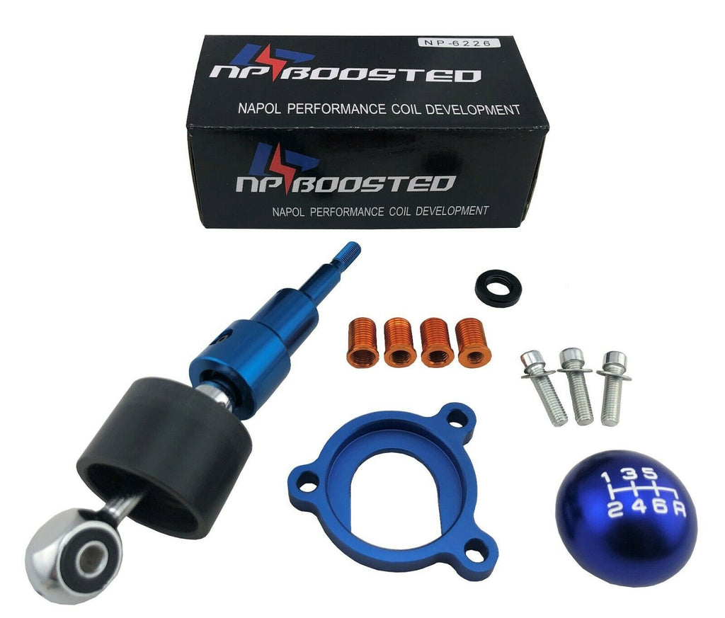 Race Short Shift Kit + 6 Spd Shifter Knob FOR 03-14 350Z 370Z G35 G37 3.5L 3.7L