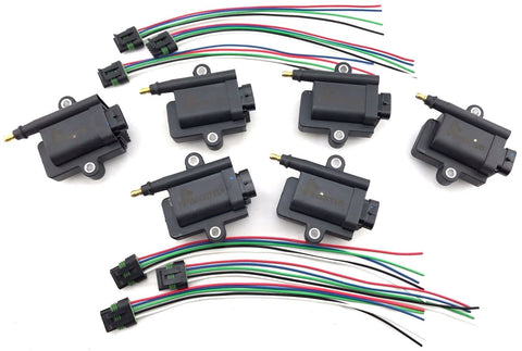 6 IGNITION COIL PACKS 300-8M0077471 300-879984T01 MERCURY OPTIMAX 339-879984T00