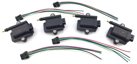 4 IGNITION COIL PACKS 300-8M0077471 300-879984T01 MERCURY OPTIMAX 339-879984T000