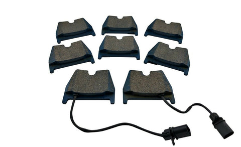 Front Brake Pads w/ Sensor for 2007-15 Audi R8 4.2L 5.2L RS4 RS5 RS6 VW Phaeton
