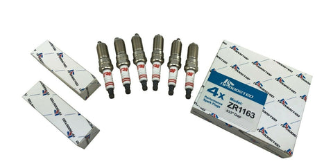 6 Iridium Spark Plugs for 2.0L 2.3L 3.5L Turbo GM Ford Lincoln Jaguar Land Rover