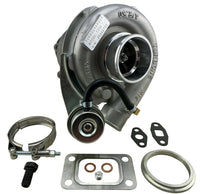 Hybrid T3/T4 Turbo Charger .50 .63 A/R T3 T4 Internal Wastegate 8 PSI 2.5