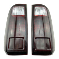 Black Smoke Rear Tail Lights Brake Signal Backup for 2008-16 Ford F250 F350 F450