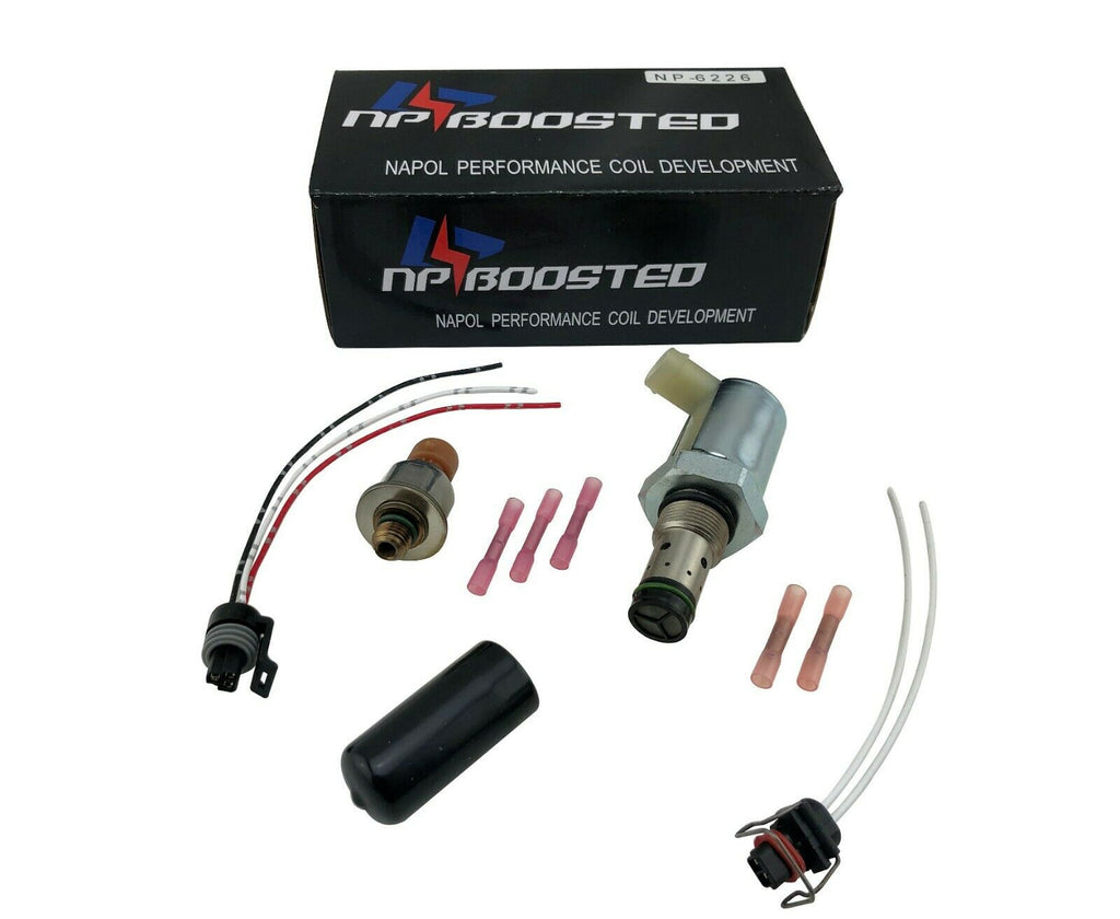 ICP Fuel Injection Pressure Sensor & IPR Regulator 6.0L Ford Powerstroke Diesel