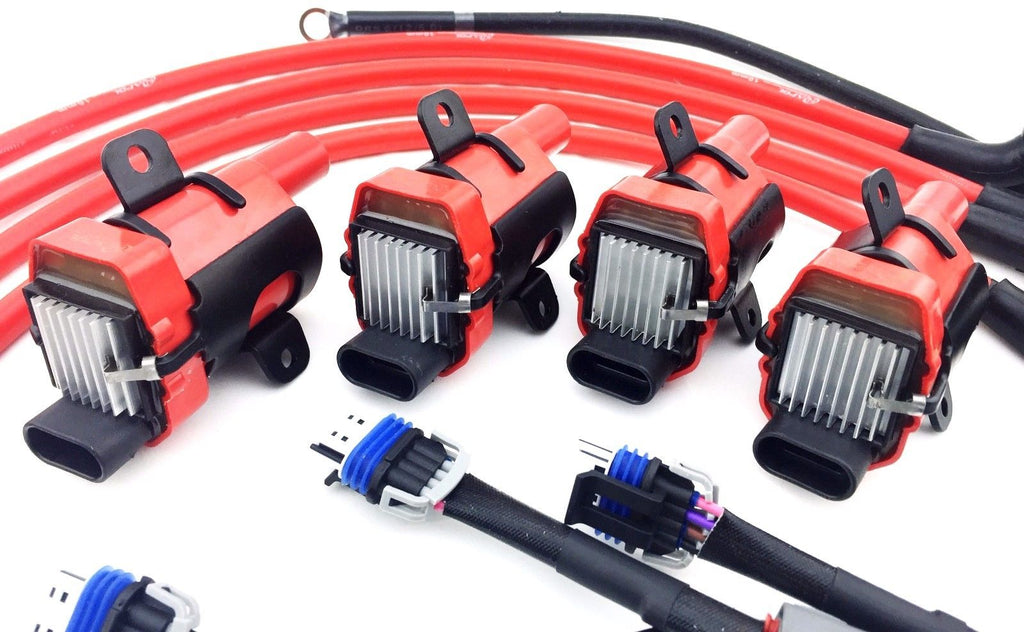 D585 Uf262 Ignition Coil Packs Mazda 10mm Wires Rx