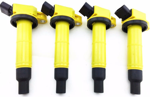 01-12 IGNITION COIL PACKS SCION TC TOYOTA CAMRY COROLLA HIGHLANDER RAV4 SOLARA