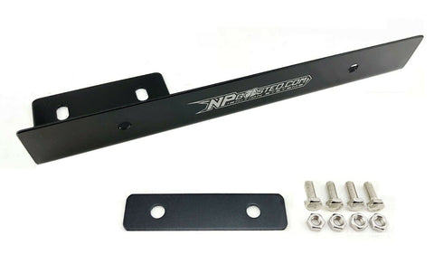 Universal Japanese & European Side Mount Relocation License Plate Holder Adapter