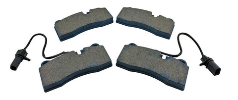 Brake Pads Rear for 2008-2012 Audi R8 V10 V8 w/ Sensors fits Non Ceramic Rotors