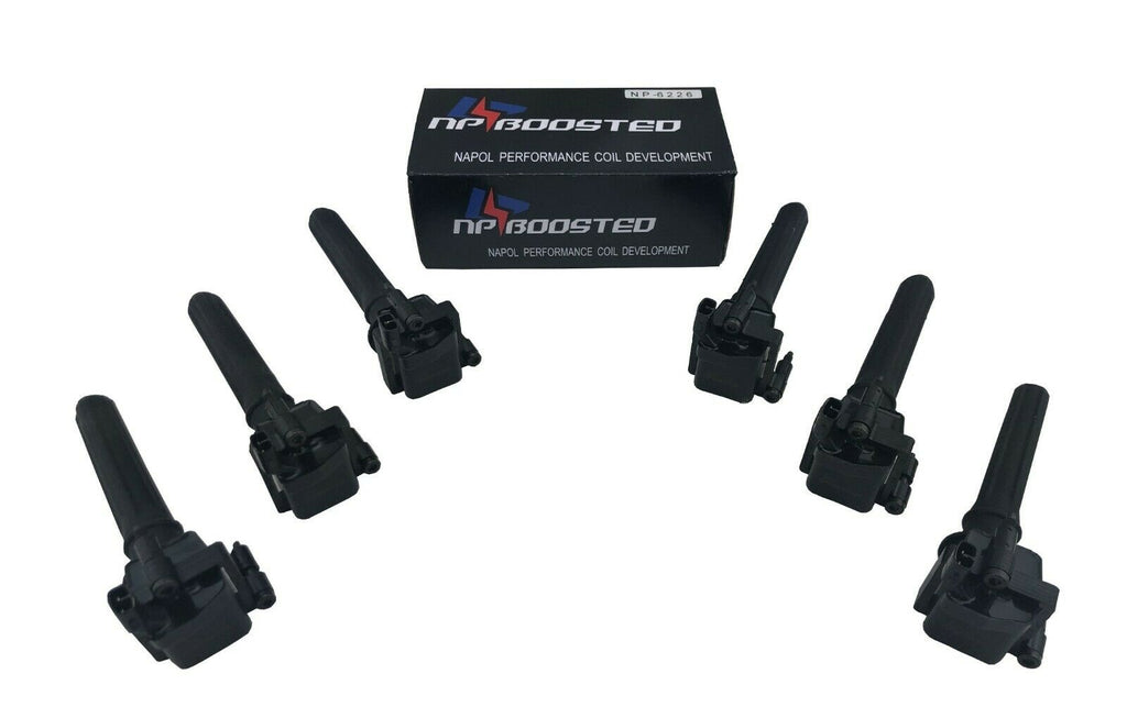 6 Ignition Coil Packs FOR 1997-2006 Chrysler 300M Prowler Intrepid 3.5L 3.2L V6