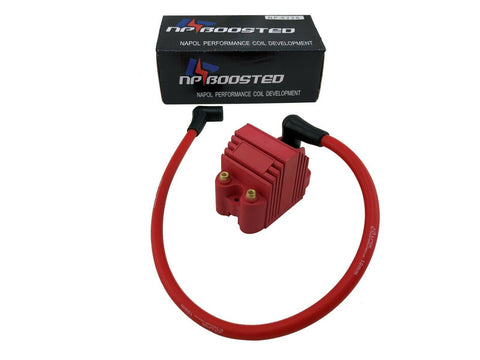 Ignition Coil Pack Hi Voltage Output 40kV + 10mm Plug Wire fits Blaster SS 8207