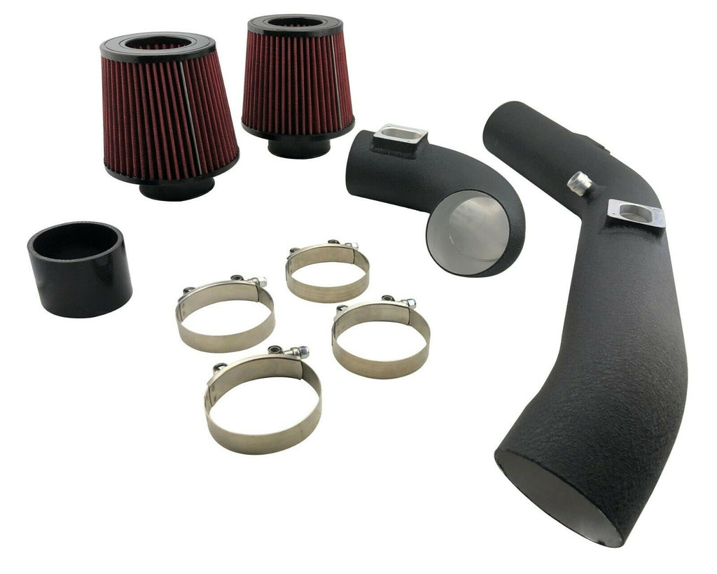 "3"" Upgrade Air Intake Pipes + Filters Kit for 15-19 M2 M3 & M4 F80 F82 S55 3.0L"