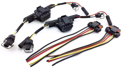 1994-97 FORD POWERSTROKE DIESEL GLOW PLUGS & INJECTOR WIRE HARNESS PIG TAILS 7.3