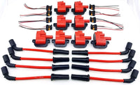 97-05 IGNITION COIL KIT WIRES 350 5.7L 5.7 GM PONTIAC FIREBIRD GTO LS1 CTS-V LS6