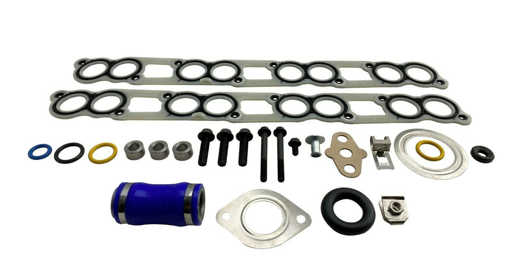 Intake Manifold Plenum Gasket Kit for 03-10 Ford Powerstroke Diesel 6.0L 6.0 V8