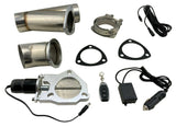 3'' HiFLow Electric Exhaust Muffler Valve Cutout System Dump Wireless Remote FOB