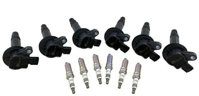 Ignition Coil Packs & Spark Plugs for 07+ F150 Flex Edge Taurus MKS MKT MKZ MKX