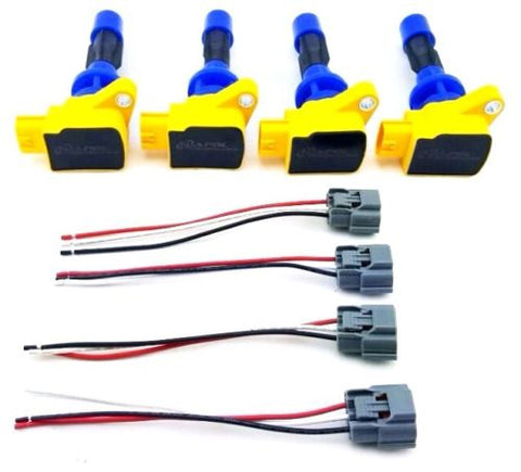 ignition coil packs pigtail wire mazda 3 6 cx 7 mx 5. Black Bedroom Furniture Sets. Home Design Ideas