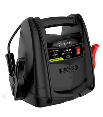 Portable 12V Power Jump Starter Jumper Pack Booster 1000 Amps SL1397 USB Charger