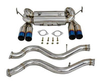 Stainless Steel Catback Dual Exhaust System Quad Tips fits BMW 08-13 M3 V8 4.0L