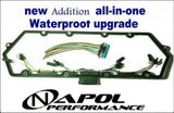 FORD POWERSTROKE 7.3L VALVE COVER GASKET + FUEL INJECTOR & GLOW PLUG HARNESS SET