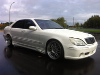 1998 Mercedes Benz S500L sedan, auto, 88,000 original kms, brabus kit, 19