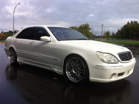 "1998 Mercedes Benz S500L sedan, auto, 88,000 original kms, brabus kit, 19"" alloy wheels"