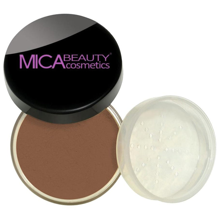 SAMPLE SIZE - 10 - Natural Glow Loose Foundation Powder - Fudge