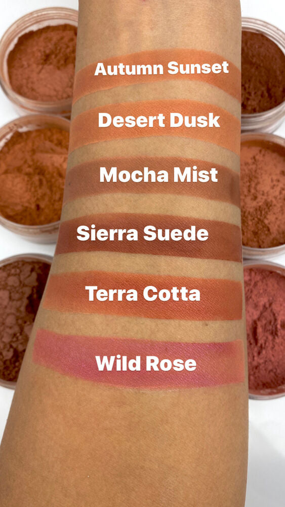 Sierra Suede Mineral Blush Powder