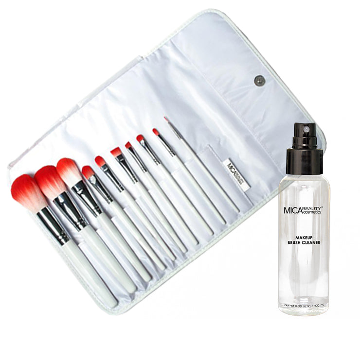 Deluxe Brush Set & Brush Cleaner Bundle